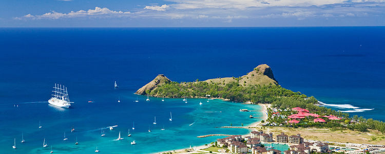 Best places in the Caribbean for a yacht cruise