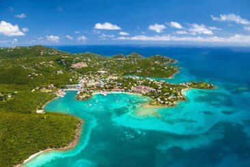 Лучшие места на Карибах для круиза на яхте