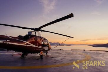 Helicopter charter flights - save your time