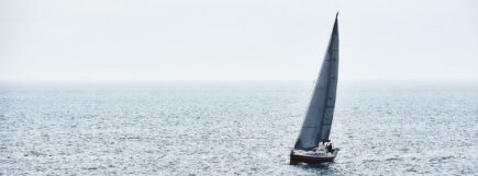 Corporate yachting - team rest