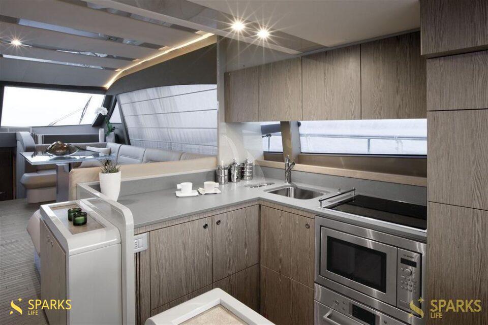 Motor yacht Lux Ferretti 650