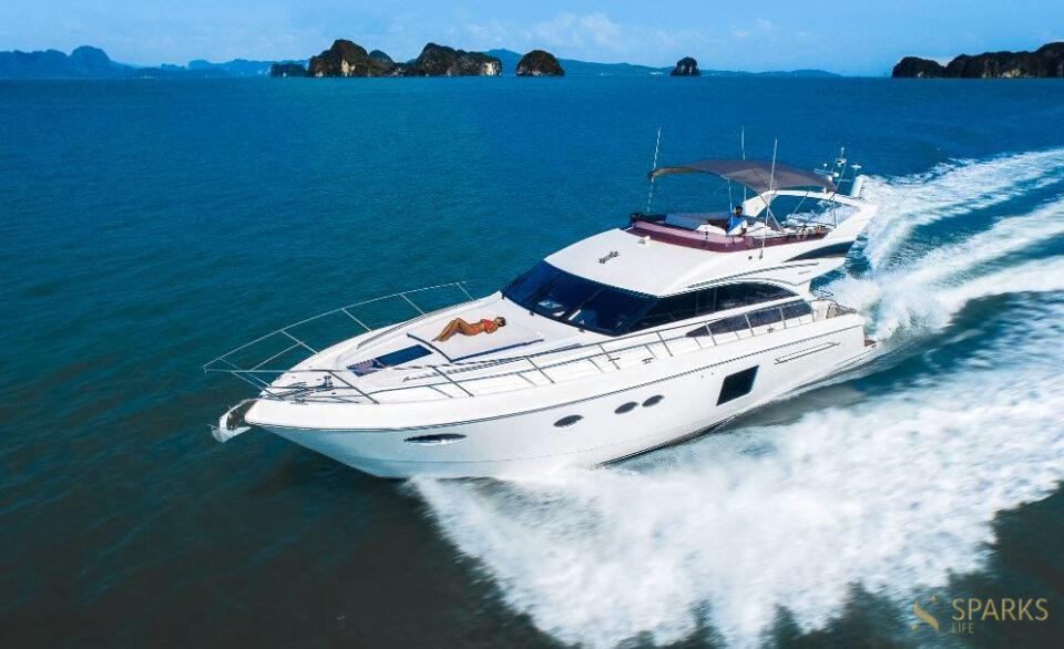 Моторная яхта PRINCESS 64