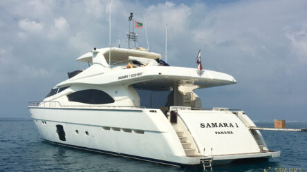 Моторная яхта Samara 1