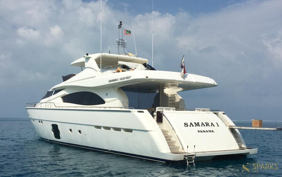 Motor yacht Samara 1