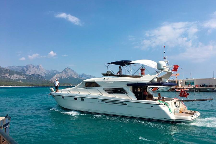 Motor yacht TUALEN 1