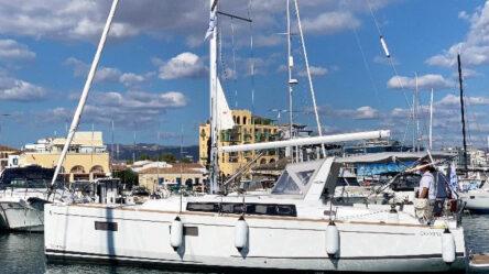 Парусная яхта Oceanis 38.1