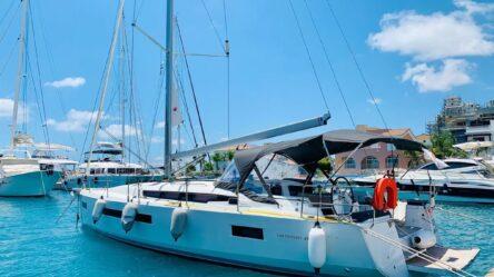парусная яхта Sun Odyssey 490