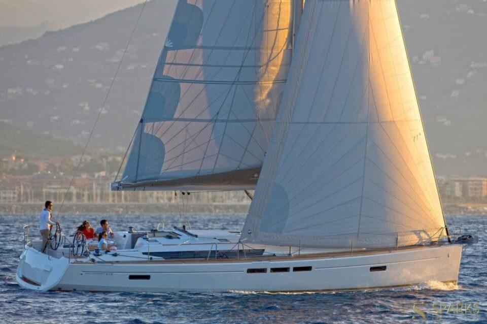Парусная яхта Sun Odyssey 519
