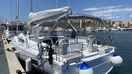 Sailing yacht Yess Boss