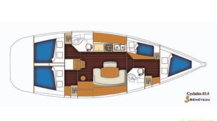 Sailing yacht BLONDIE