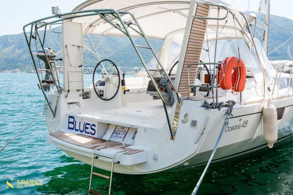 Парусная яхта Blues