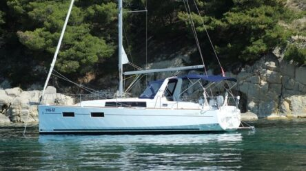 Sailing yacht Gian Michel