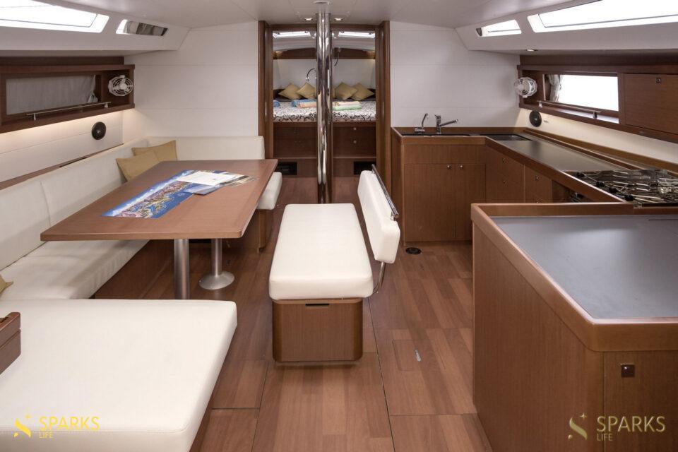 Sailing yacht Jazz