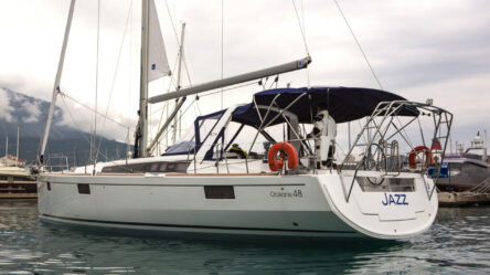 Sailing yacht Jazz