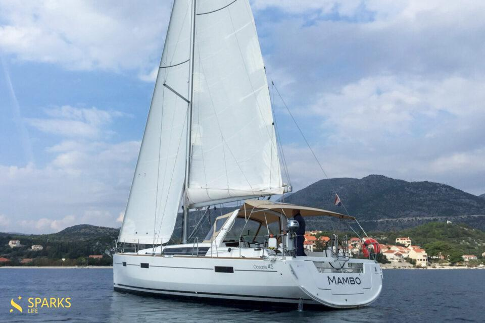 Парусная яхта Mambo1