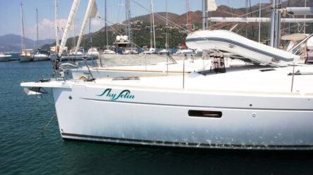 Sailing yacht Sky Selin