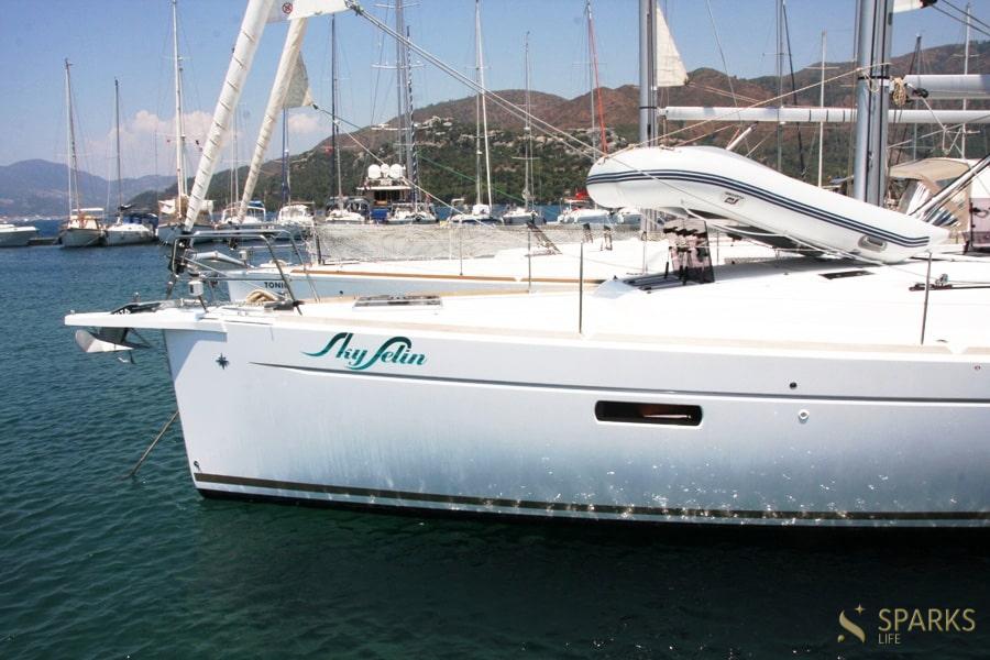 Парусная яхта Sky Selin