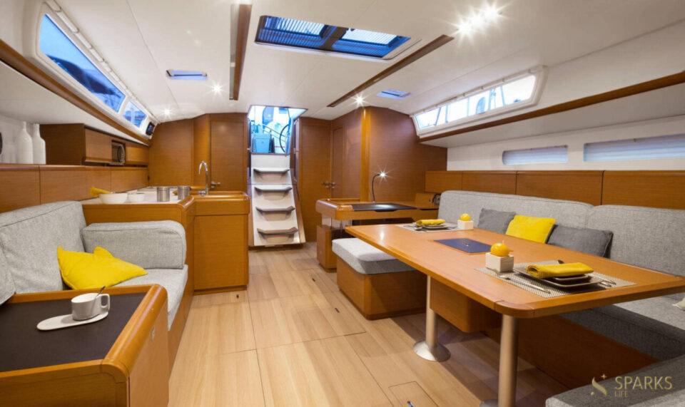 Sailing yacht Sun Odyssey 519