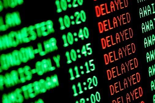 Что делать если произошла задержка рейса?