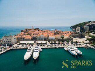 Yacht trip from Budva (Montenegro)